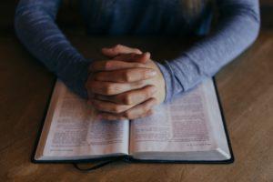 Praying - speak a word